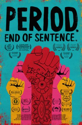 Official Poster for Period. End of Sentence.