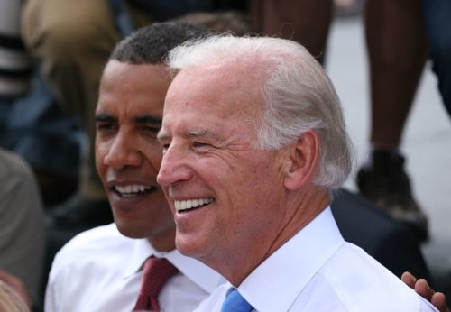 Joe Biden with Barack Obama