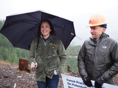 Hilary Franz talks about landslide safety
