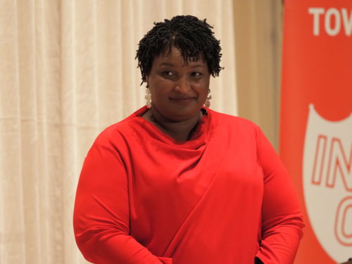 Stacey Abrams in Seattle