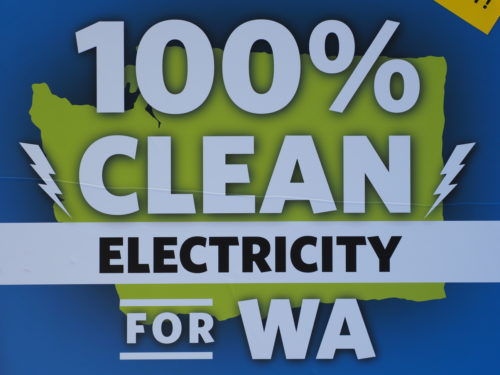 Washington is committed to clean elecricity