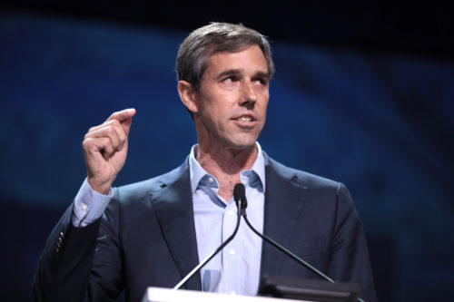 Beto O'Rourke speaking