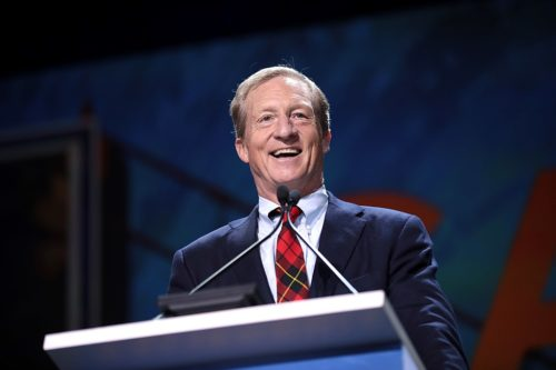 Tom Steyer addresses 2019 California Democratic Party state convention