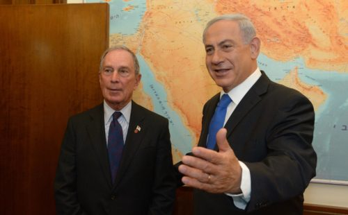 "Bloomberg considers Israel's far-right Prime Minister Netanyahu a ""friend"""