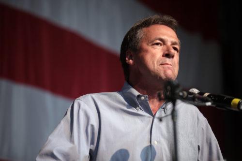 Steve Bullock speaks at the Iowa Democratic Wing Ding