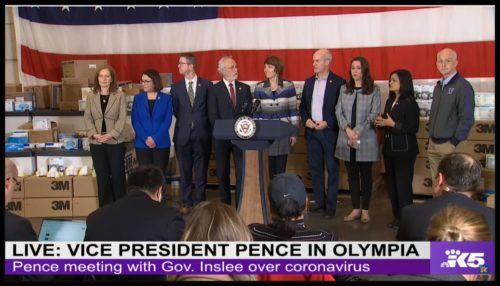 An unusual sight: Washington's U.S. House delegation together