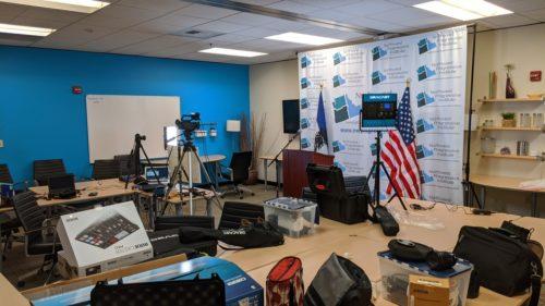 Behind the scenes of NPI's Virtual Gala