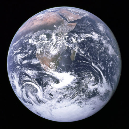 Blue Marble: The Earth!