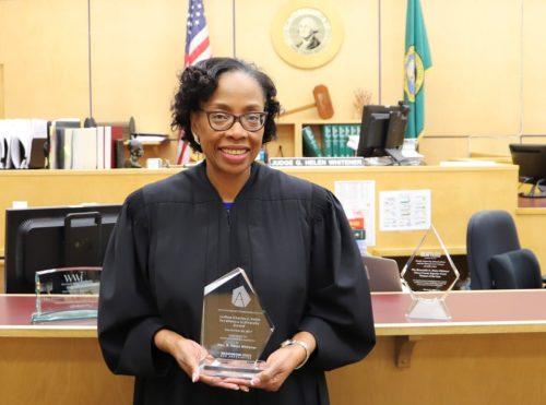 New Justice Helen Whitener