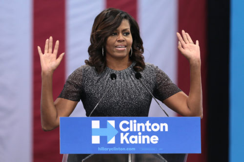 Mrs. Obama has clearly stated her disinterest in rejoining electoral politics