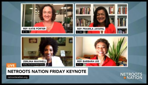 Netroots Nation 2020 Friday keynote speakers