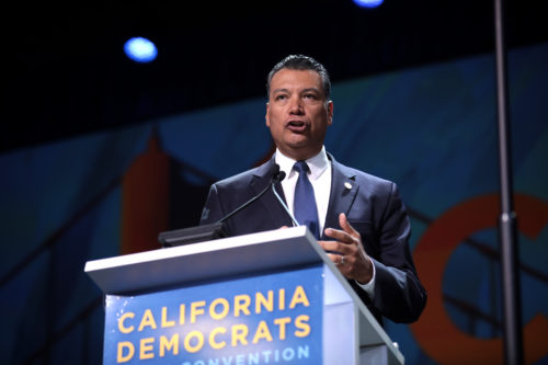 Alex Padilla is California's Secretary of State