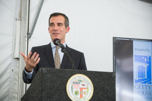 Eric Garcetti is the mayor of Los Angeles