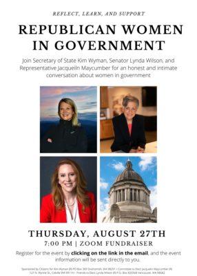 Kim Wyman's Republican Women in Government event