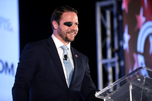 Dan Crenshaw is an idol to young conservatives