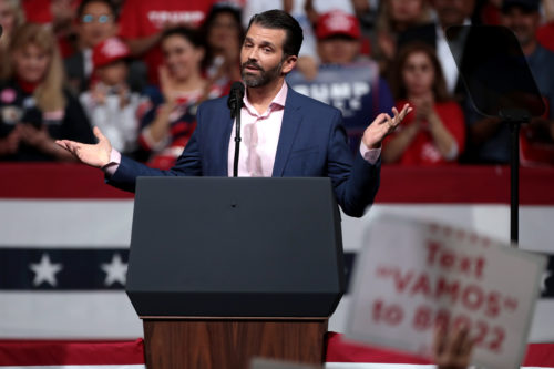 Speculation is rife that Don Jr. will take up his father's mantle