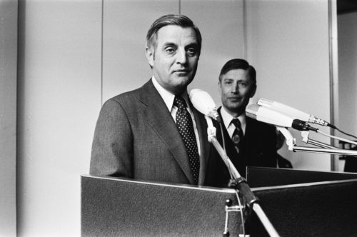 Walter Mondale speaking