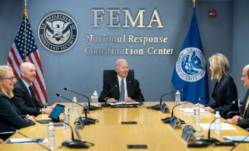 Joe Biden at FEMA