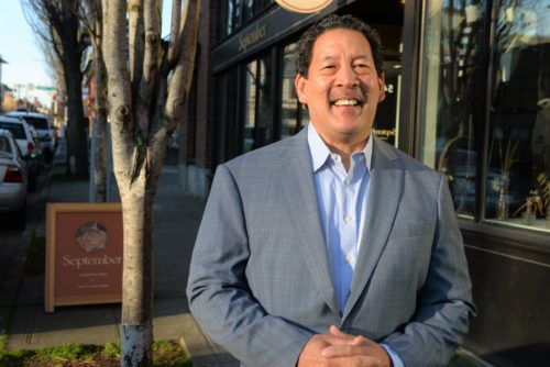 Bruce Harrell is running for Mayor of Seattle