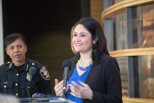 Lorena González has been the Presiden of the City Council since 2020