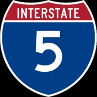 Interstate 5 shield