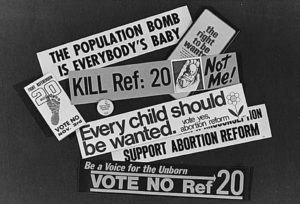 Referendum 20 bumper stickers