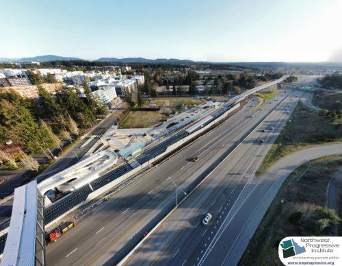 Overlake Village Station view one (East Link aerial tour)