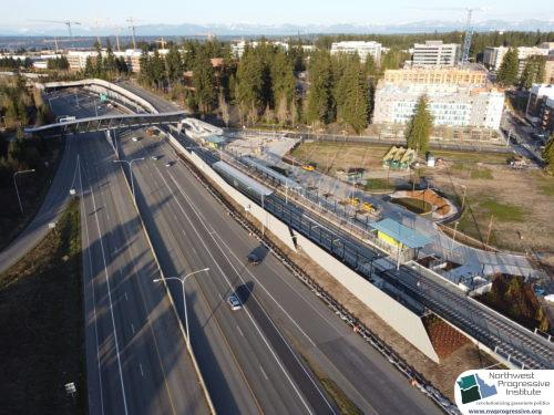 Overlake Village Station view three (East Link aerial tour)