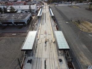 Bel-Red/130th Station view two (East Link aerial tour)