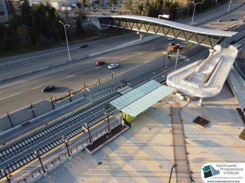 Overlake Village Station view four (East Link aerial tour)