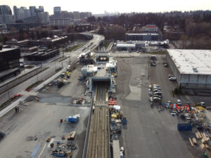 Spring District/120th Station view one (East Link aerial tour)
