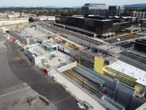 Spring District/120th Station view four (East Link aerial tour)
